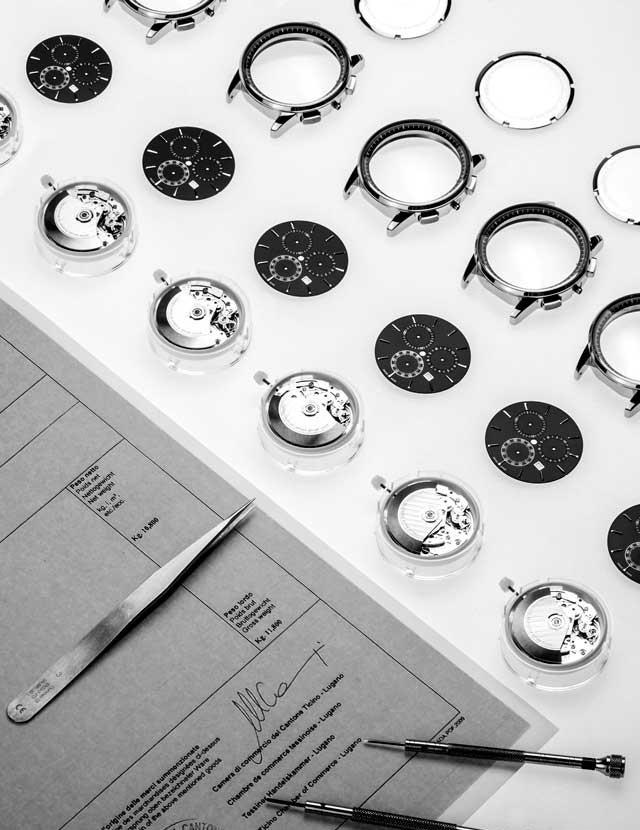 Personalisierte Uhrwerke Aus Schweizerer Produktion