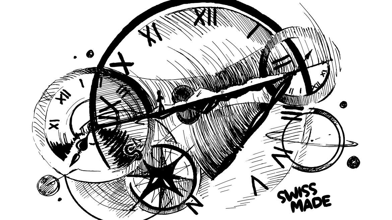 relógios: desenho e swiss made